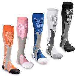 Compression Socks Sport Running Fitness Calf Shin Leg Men Wo