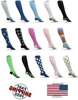 Go2 Compression Socks 20-30 mmHG Graduated Mens or Womens S-