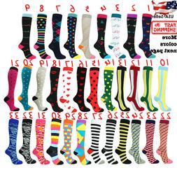 Compression Socks Stockings Womens Mens Knee High Medical 20