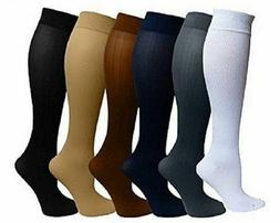 5 pairs compression socks relief stockings graduated