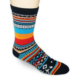Sock HQ Cool Crazy Blue Red Orange Night Wanderer Boot Winte