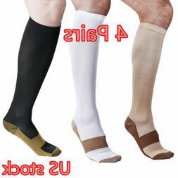 Copper Compression Socks 20-30mmHg Graduated Support Men's W
