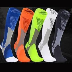 Copper Compression Socks Men Women Calf Shin Leg Running Fit