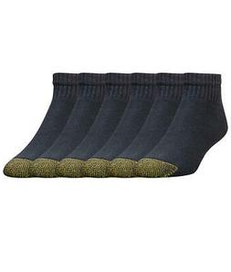 Gold Toe Cotton Cushion Ankle Socks 6-Pack Hosiery, Activewe