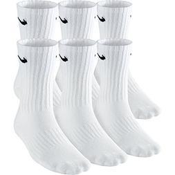 cotton cushioned crew socks