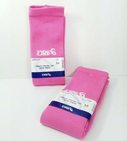 asics All-Sport Court Knee High Volleyball Socks Pink Medium