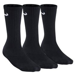 Nike Performance Crew Kids' Socks  Black/White Sz Small 3Y-5