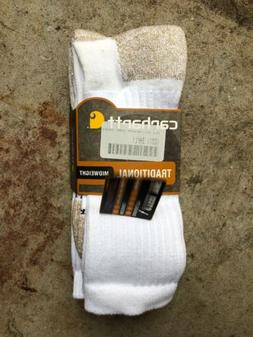 Carhartt Men's 2 Pack Full Cushion Steel-Toe Synthetic Work
