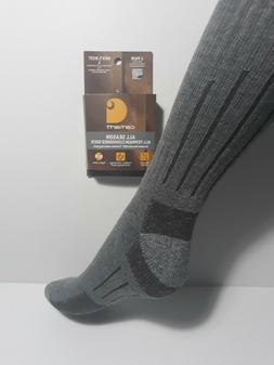 Carhartt Men's Full Cushion All Terrain Boot Socks,  Tan, Sh