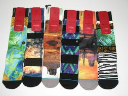 Stance D Wade Collection Light Cushion Socks Mens L/XL NWT 6
