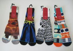 Stance D Wade Collection Socks Mens Sz L/XL  New 4 Pair Bund