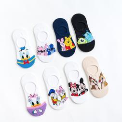 Disney Women <font><b>Socks</b></font> Cartoon Animal Mickey