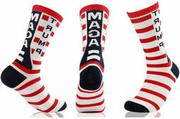 Donald Trump Socks Red White and Blue MAGA - FREE SHIPPING!!