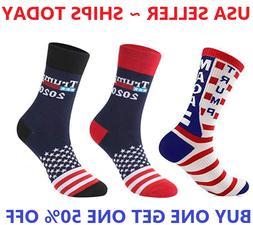 Donald Trump President Socks 2020 Make America Great Again C