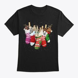 Donkey-sock-merry Christmas Hanes Tagless Tee T-Shirt