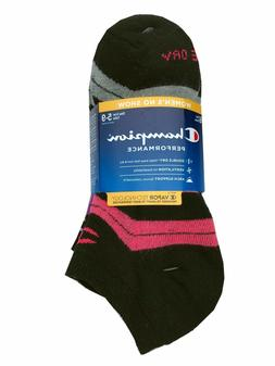 Champion Double Dry® Performance Women's 6-pack No-Show Soc