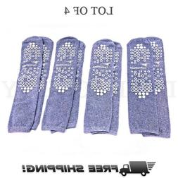 Double Sided Slipper Socks, Non Skid Hospital Travel Slipper
