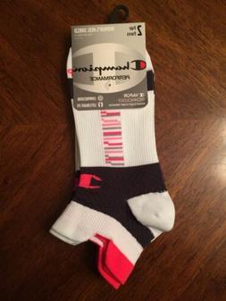 Champion Women's Double-Heel Shield Compression Running Sock