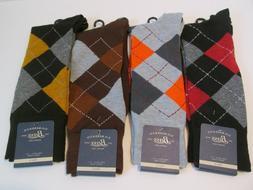 Bass Dress Argyle Socks Men's shoes size 6-12-1/2 Red orange