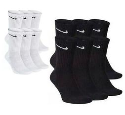 Nike Dri-Fit Cotton Everyday Cushioned Crew Socks 1, 3, or 6