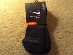 Nike Dri-Fit Cotton Cushioned No Show Socks SX4834-001 Black