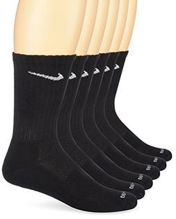 Nike Unisex Dri-Fit Crew 6-Pair Pack Black/ LG