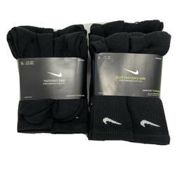 dri fit everyday cushion crew socks pack
