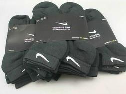 Nike Dri-FIT Men's 6-Pack Black Low Cut Socks Size - 6-8/ Me