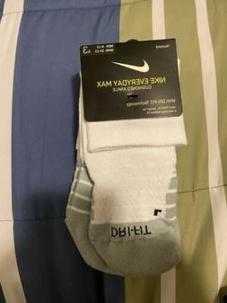 Nike Dri-Fit Quarter Socks Everyday Max Ankle Cushion  SX554