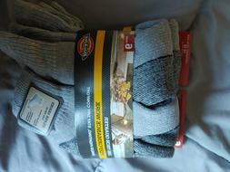 Dickies Dri Tech Quarter Performance Work Socks Gray 5 Pack