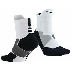 Nike Dry Hyper Elite Cushioned Crew Basketball Dri-Fit Socks