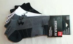 Under Armour Elevated Performance No Show Socks 3 Pack Large