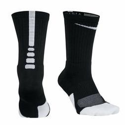 Nike Elite 1.5  Basketball  Socks  BLACK/WHITE  SMALL MEDIUM