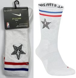 Nike Elite Basketball Crew Socks Men's 8-12 Jordan 2019 NBA
