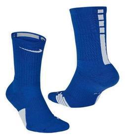 Nike Elite Basketball Socks Kids Shoe Size 3Y-5Y, 4-6, Blue,