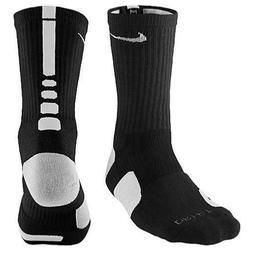 Nike Men's Elite Crew Basketball Socks Black/White SX3629-00