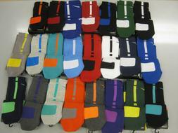 NIKE ELITE CUSHIONED CREW BASKETBALL SOCKS -SX3693 -Choose c