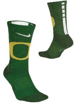 Nike Elite Oregon Ducks Basketball Socks Kids Shoe 3Y-5Y, S
