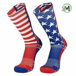 TCK Elite USA Flag Digital Camo Mis-Match Red White Blue Cre