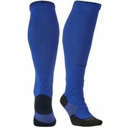 NIKE Elite Vapor 2.0 OTC Cushioned Football Socks Blue NEW Y