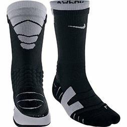 Nike Elite Vapor Cushioned Athletic Football Crew Socks Blac