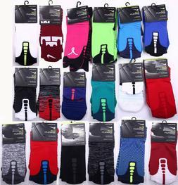 Nike Elite Versatility Cushioned Basketball Crew Socks BREAS