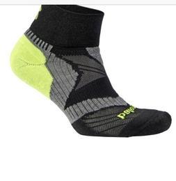 Balega Enduro V-Tech Quarter Running Socks Black/grey Size M