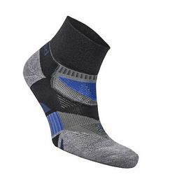 Balega Enduro V-Tech Quarter Socks For Men and Women  , Blac