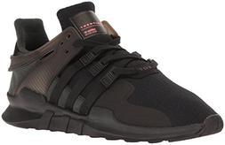 adidas Men's Eqt Support Adv Fashion Sneaker,Black/Black/Tur