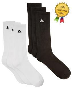 Adidas Everyday Athletic Cushioned Crew Socks    Size 8-12