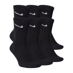 Nike Everyday Cotton Cushioned Athletic Crew Socks Dry Fit M