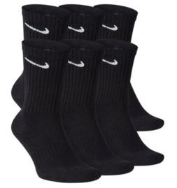 Nike Everyday Cotton Cushioned Crew Socks Large 6 Pack Brand
