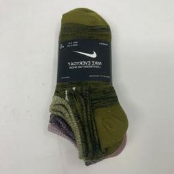 Nike Everyday Lightweight No-Show Socks 6 Pairs  SZ Medium S