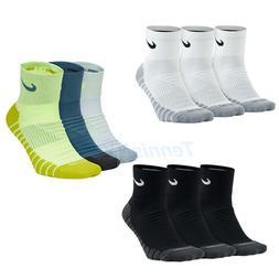 NIKE Everyday Max Cushion Ankle Socks Tennis Training Basket